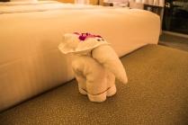 Little towel elephant