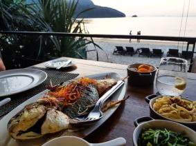 Dinner at sunset at Jala restaurant