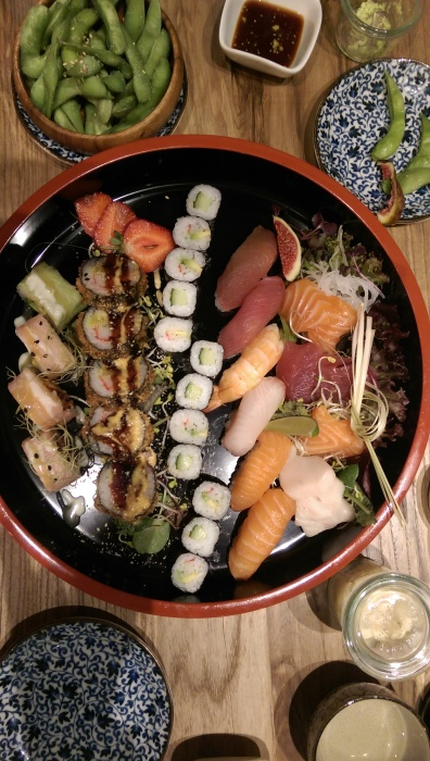 Sushi at Wabi Sabi: This is the Master's collection.